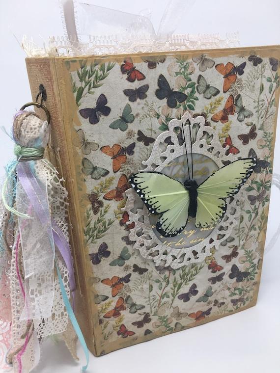 Vintage Junk journal for a dog lover  Memory keeper  Notebook