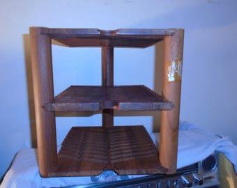 Kalmar Designs Teak Wood CD Storage