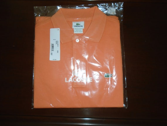 5b9154bfb8d97 Brand New Mens Lacoste Caiman Colored PoloShirt Size 6/ Large