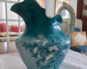 Antique Edwin Bennett Pottery Milk Jug Bona Fama Alba China