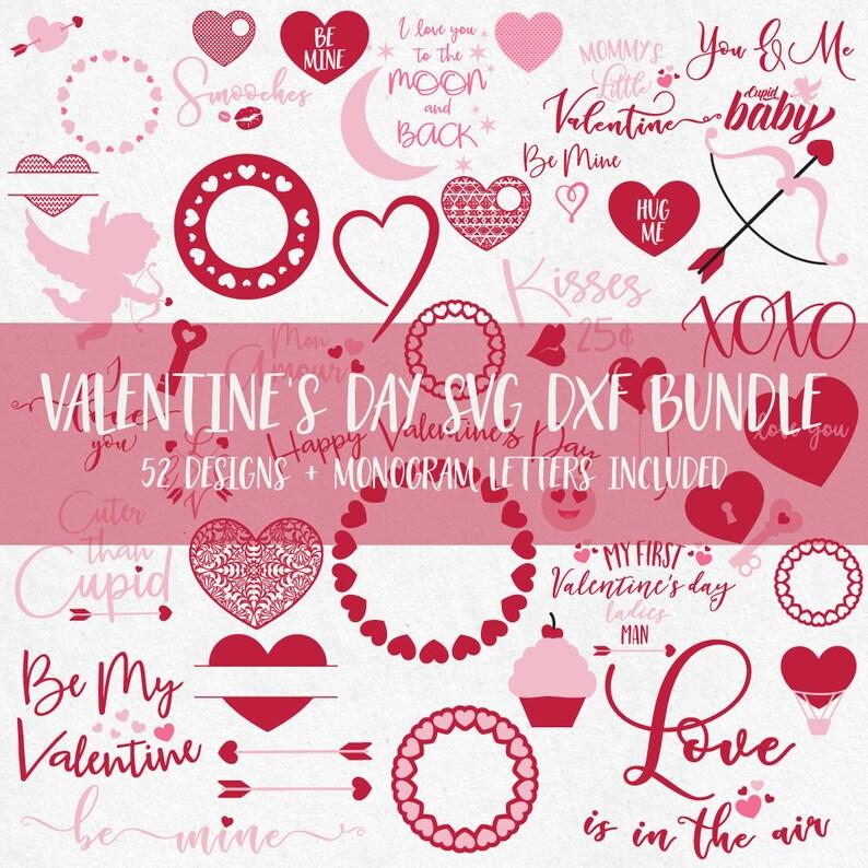 Valentine Svg Bundle, huge svg bundle, valentine svg, valentine svg files,  valentine monogram svg, valentine svg designs, valentine svg kids