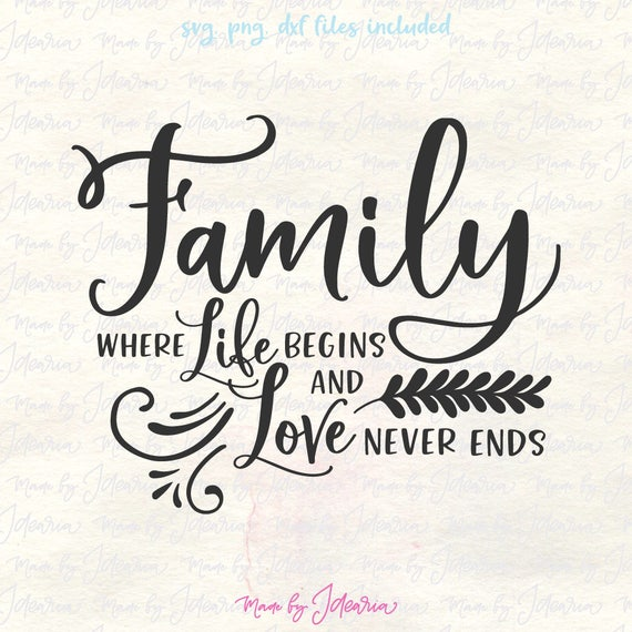 Family Quotes With Picture: Family Svg Family Svg Sayings Family Svg Files Family