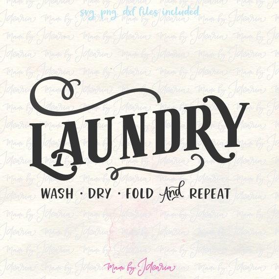 Laundry Svg Laundry Room Svg House Svg Farmhouse Svg Home Etsy