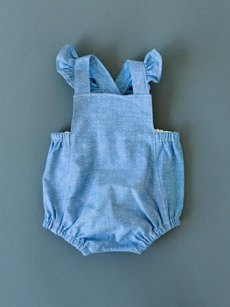 0f1046fc0efc Baby Romper Baby Playsuit Girl Romper Girl Playsuit