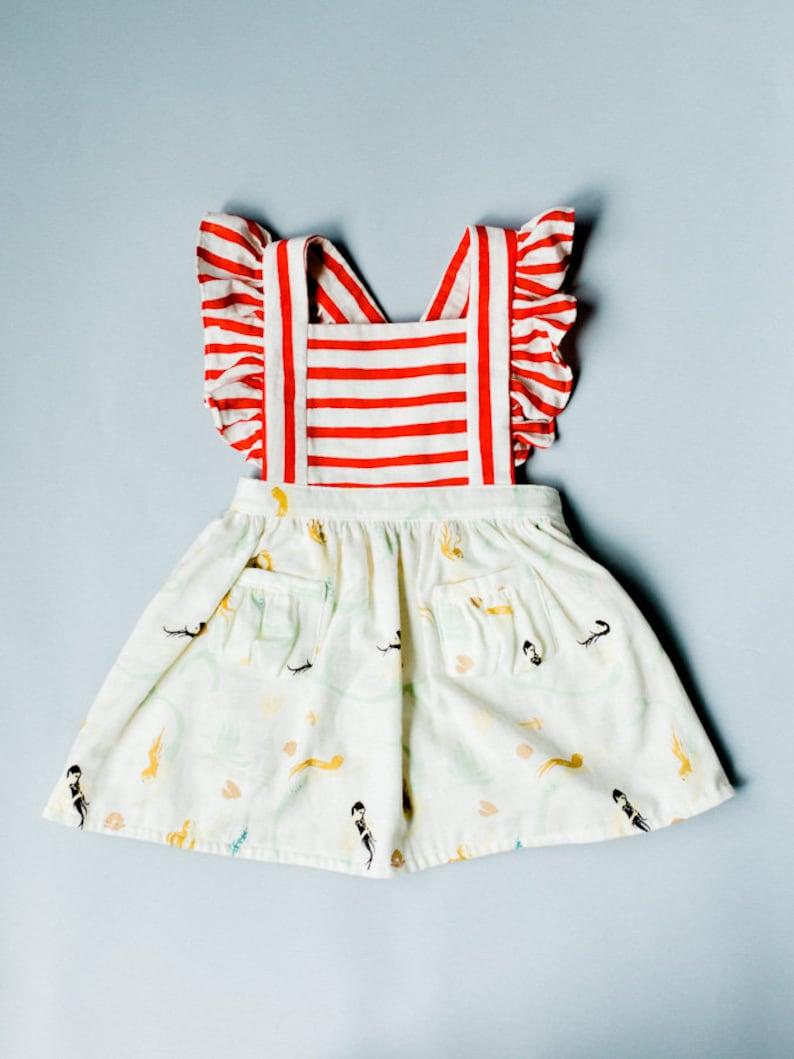4ec87a641c4d Toddler Pinafore Dress Toddler Dress Vintage Girls | Etsy