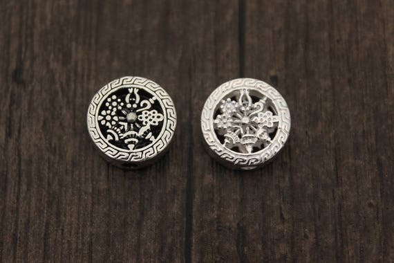 40pc Tibetan Silver Umbrella Pendant Bracelet Charms Jewelry Accessories P856
