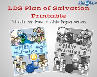 Plan of salvation Etsy