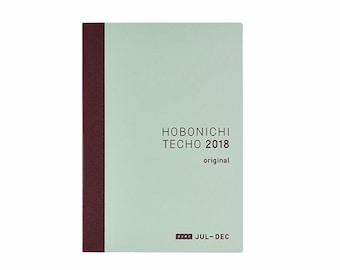 Hobonichi Techo Original Avec Book (July-Dec 2018)