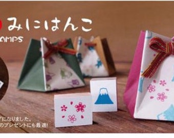 Japan Mini Stamps Set