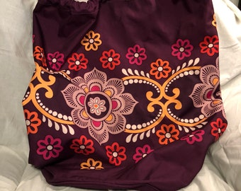 ce74a3c037 Lower Price  Vera Bradley Laundry bag in Safari Sunset print. New no tag.  Perfect for packing linens