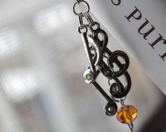 Delicate Melody Book Bling Bookmark