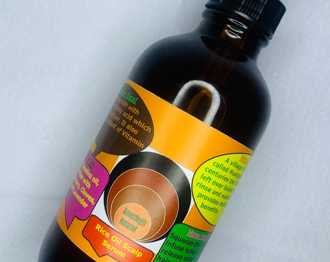 Rice Oil Scalp Serum