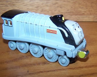 Spencer Locomotive - Thomas The Tank Engine - Take Along Series - Die Cast - Learning Curve