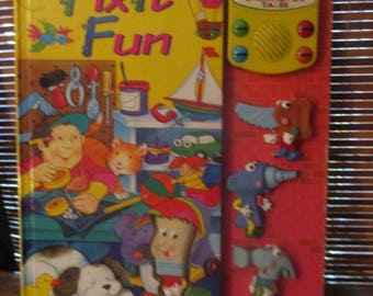 Play a  Sound Story Book with Sound Effects Fix it Fun (1994)