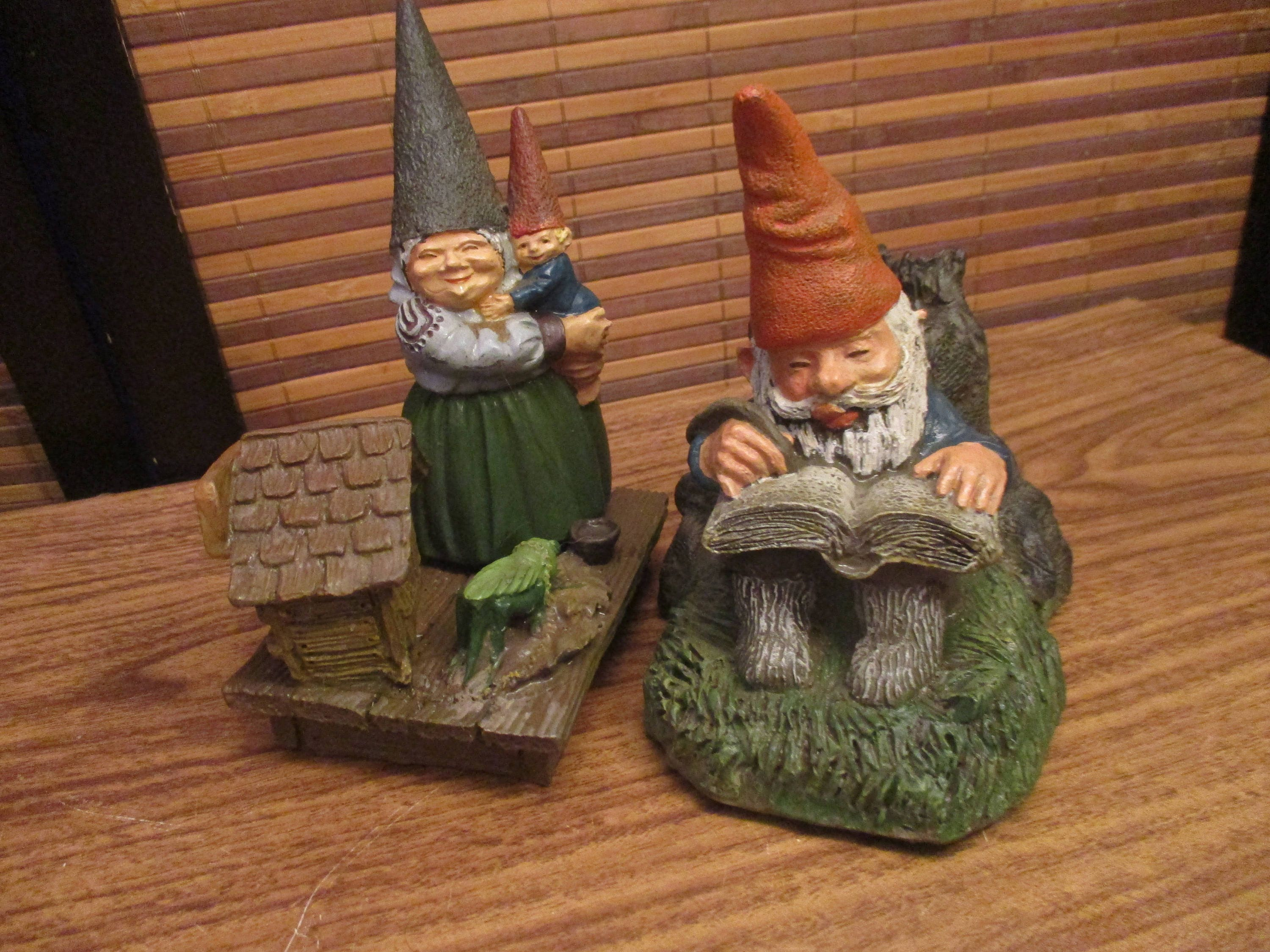 Mr and Mrs Gnome Ornaments