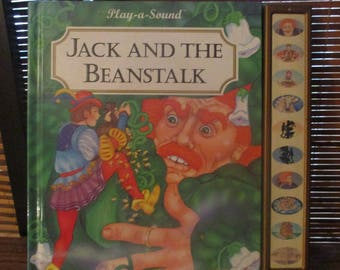 Play a  Sound - Story Book with Sound Effects Jack and Bean Stalk (1994)