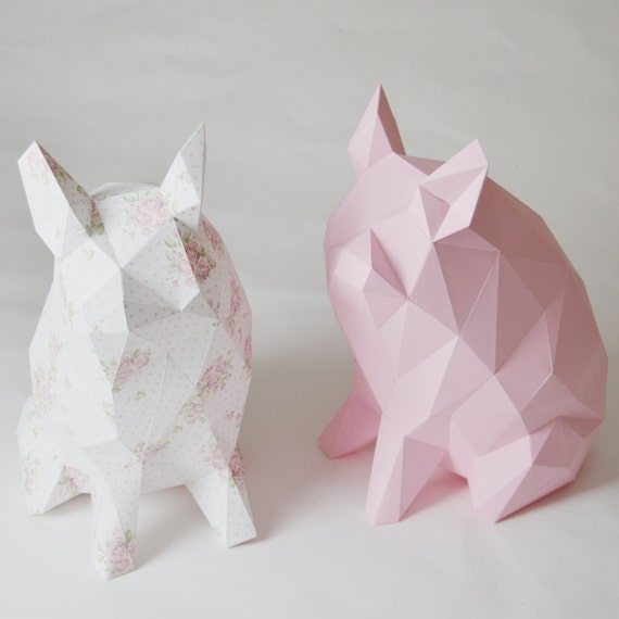 porkido my little paper piglet folding kit for a diamond style low