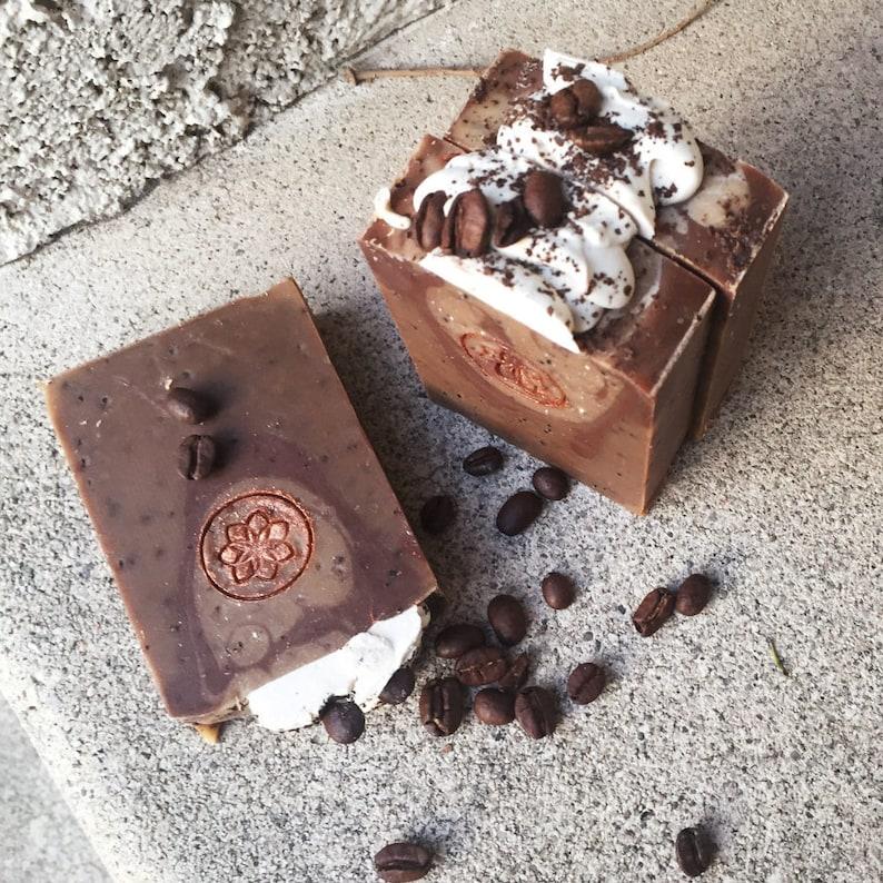 Hot Cocoa  Handmade Soap  Stocking Stuffer  Vegan Soap  image 0
