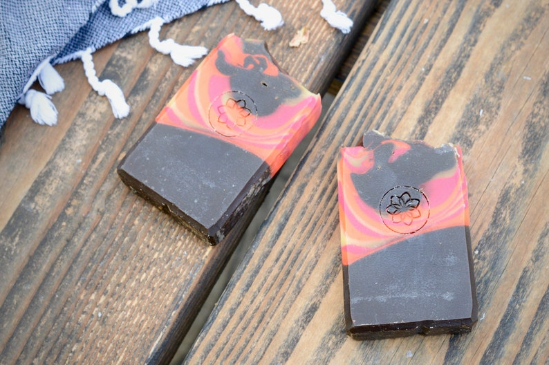 Dragon's Breath Activated Charcoal Handmade Soap image 0