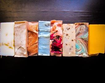 BUY 5 GET 1 FREE -Handmade Soap -Soap Set -All Natural Skincare -Bulk Soap -Housewarming Gift - Homemade Soap - Soap Favors - Wholesale Soap