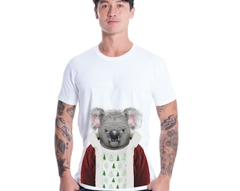 Christmas Koala Men's T-Shirt