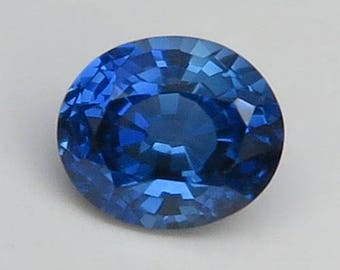 2.62 Ct Lab Created Simulated Sapphire Blue