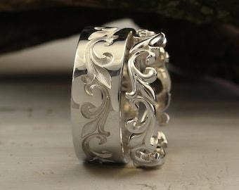 Unique Ring Set Etsy