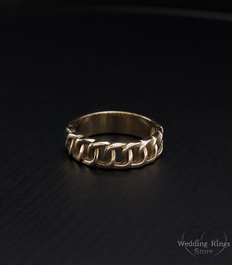 a0a04a0c064cc Modern ring, Wedding band women or men, Unusual ring, Yellow gold wedding  band, Unique wedding band, Original Design Ring, 14K gold ring