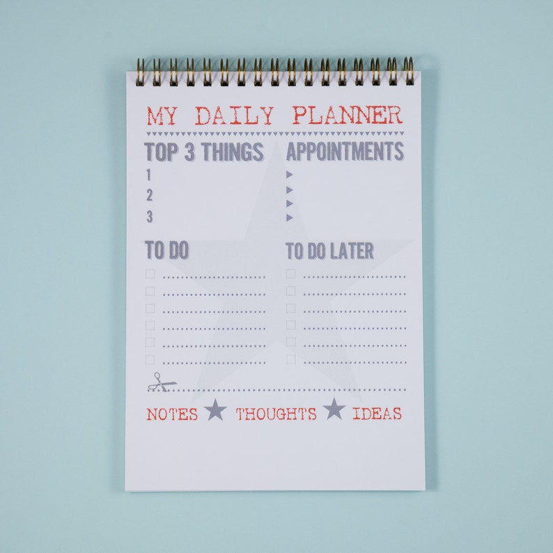 picture relating to Daily Planner Notebook known as Every day Planner Laptop A5 In the direction of Do Listing Planner Efficiency Planner  Organiser Everyday Planner Laptop computer Every day Plan