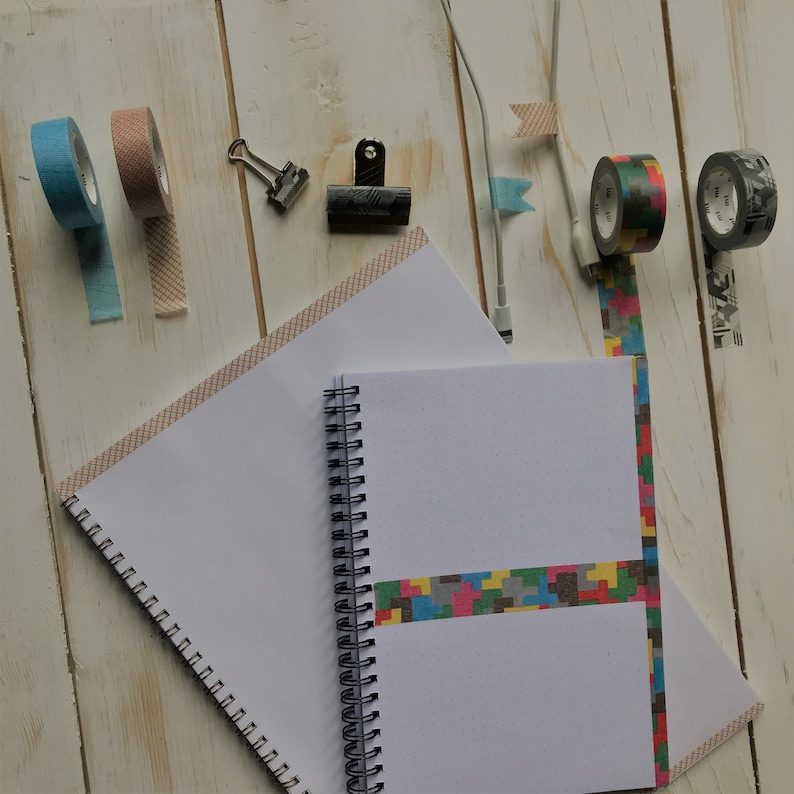 MT Washi Tape Light Blue Lined Messy Cyan Bullet Journal Accessories Planner Sticker Scrap Book Japanese Craft Adhesive Tape