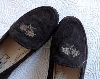 RIEKER Antistress Shoes Brown Genuine Leather Platform Shoes