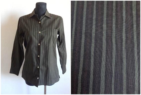 Marimekko Jokapoika Shirt Striped Brown Women's Bl