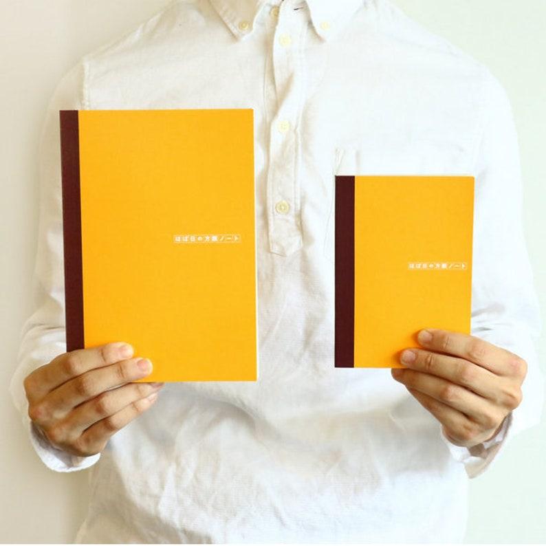 Hobonichi Techo Plain Notebook A6 Size Undated Graph Paper