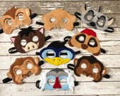 Lion King Inspired Masks Nala Mask Simba Mask Kids Mask Child Mask Hyena Mask Timon Mask Pumba Mask Rafiki Mask Uncle Scar Mask Dress Up