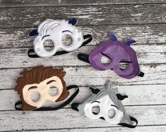 685f41be8cf Smallfoot Inspired Masks Small Foot Mask Migo Mask Kids Mask Child Mask  Meechee Mask Fleem Mask Smallfoot Costume Yeti Dress Up Yeti Mask