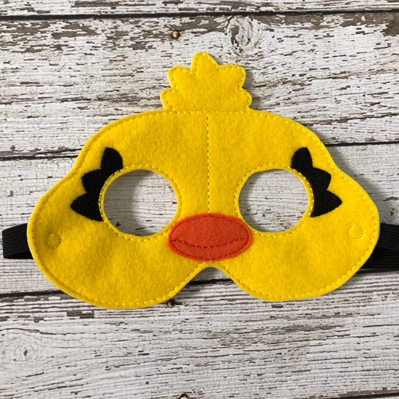 Toy Story Inspired Mask Bunny Mask Ducky Mask Toy Story Birthday Party Favor Halloween Mask Halloween Costume Dress up Pretend Play