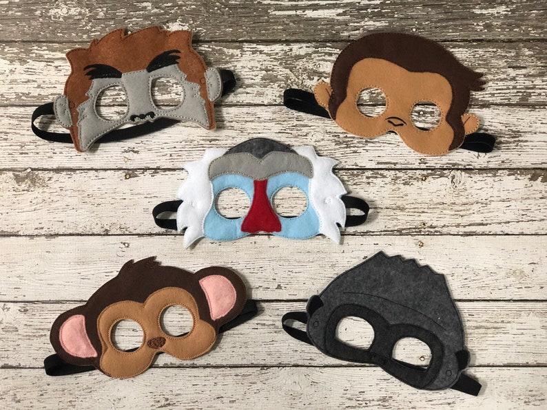 38903a416b46a Minion Ispirato Maschere Minions Costume Bambini Maschere Etsy