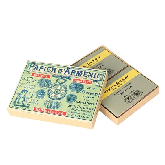 Papier D Armenie 1900 Box With 12 Booklets 432 Uses Etsy