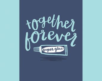 Together Forever, A6 Card