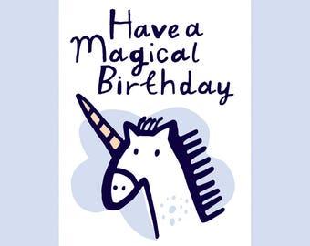 Have A Magical Birthday, A6 card