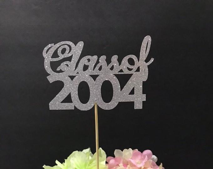 Class Reunion 2004, Class of 2004, Class Reunion Centerpiece , Class Reunion Decoration, Class Anniversary, Prom, School, University