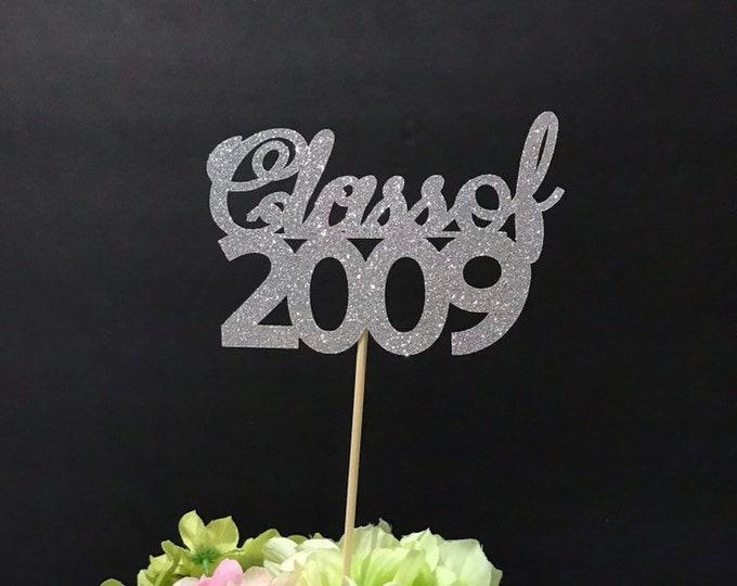 Class Reunion 2009, Class of 2009, Class Reunion Centerpiece , Class Reunion Decoration, Class Anniversary, Prom, School, University