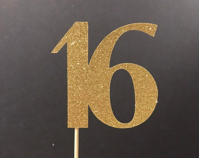 Sweet 16 decorations ,Sweet 16, 16th Birthday Centerpiece Sticks, Sweet 16 Birthday Party Decor, Sweet 16 Party Ideas