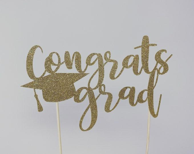 Graduation party decorations 2021, Graduation Cake Topper, Personalized Graduation cake topper, Graduation Party decor 2021, Congrats Grad