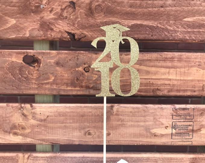 Class of 2000 Centerpiece Decoration, 20th Class Reunion Centerpiece Stick, Class of '00 Memorabilia Table Decoration, 20th Reunion