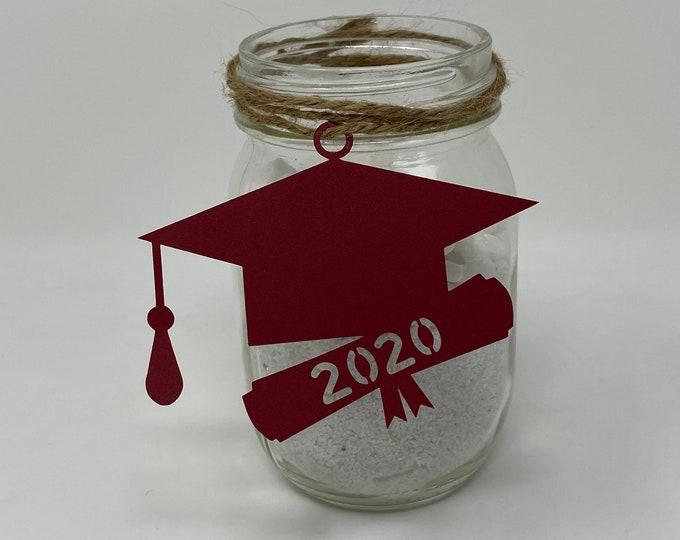 2021 tags, 2021 cut out, Graduation party decorations 2021, Graduation Cut outs, 2021 Mason jar tags , class of 2021, Graduation Decoration