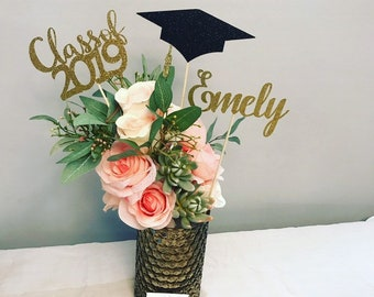 Terrific Graduation Party Decorations Etsy Download Free Architecture Designs Lukepmadebymaigaardcom