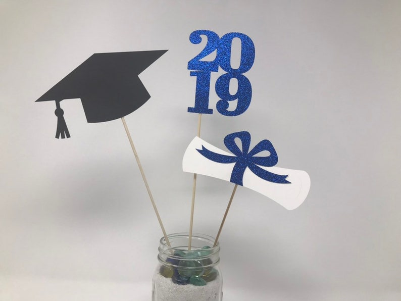 Graduation Party Decorations Graduation Centerpiece Cap Diploma Class Of 2019 Graduation Decoration Graduation 2019 Graduation Decor