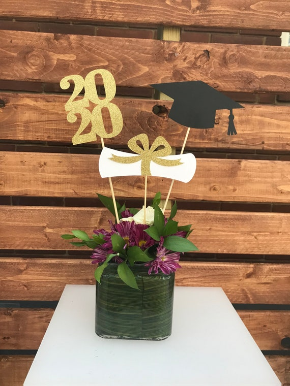 2021 Graduation decorations Graduation Centerpiece Sticks ...