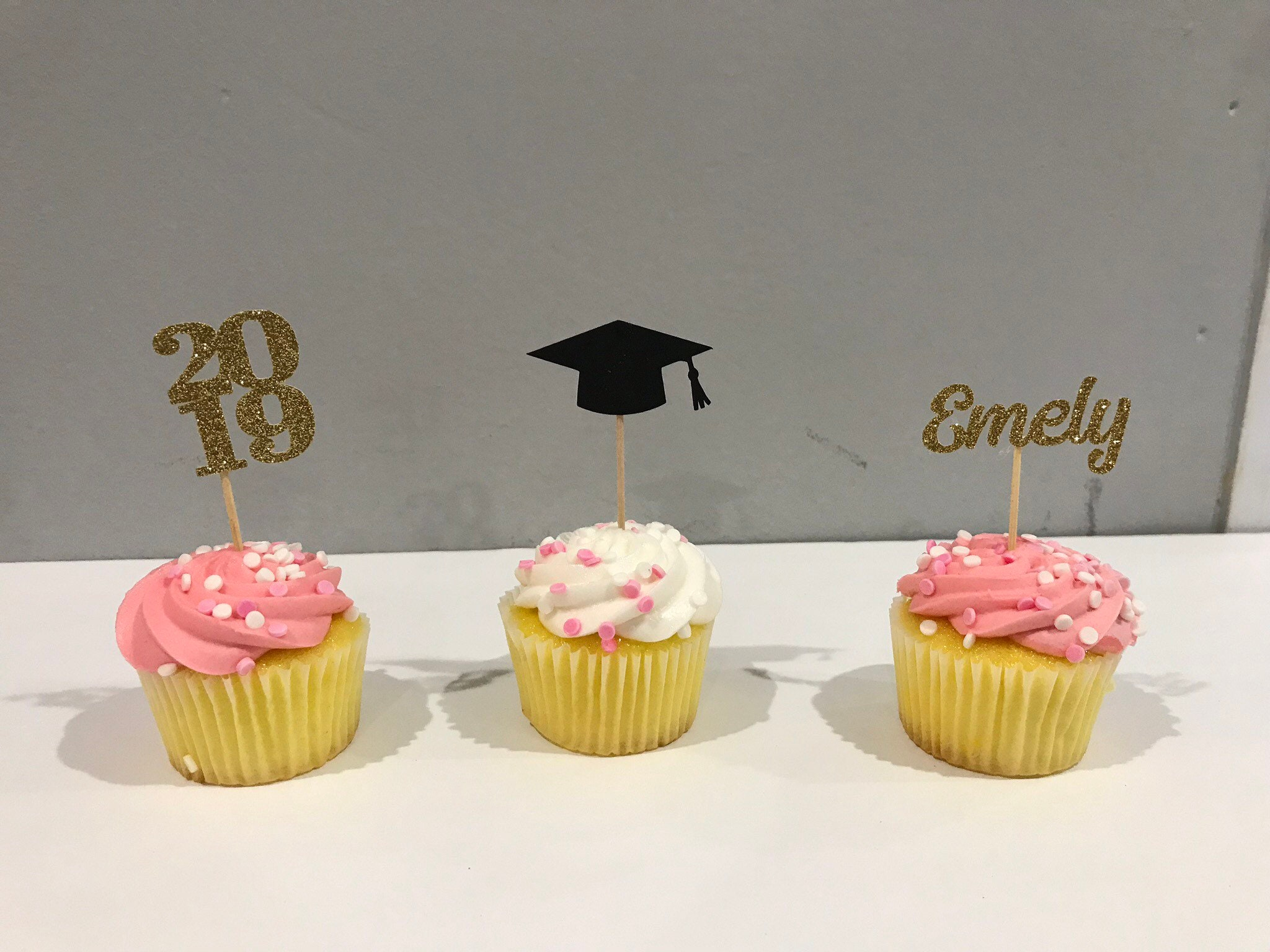 Graduation Party Decoartions 2019 Graduation Cupcake